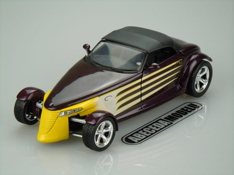 Anson 1:18 Plymouth Prowler Hot Road 1998 (purple) code Anson 30367, modely aut