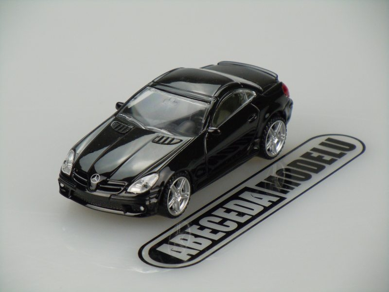Rastar 1:43 Mercedes Benz SLK55 AMG (black) code Rastar 877159, modely aut