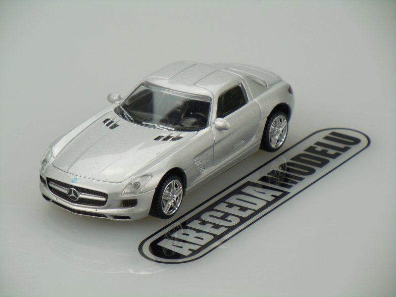 Rastar 1:43 Mercedes Benz SLS AMG (silver) code Rastar 877159, modely aut