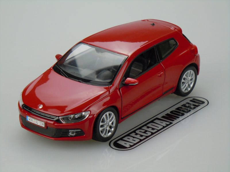 Welly 1:24 VW Volkswagen Scirocco (red) code Welly 24007, modely aut