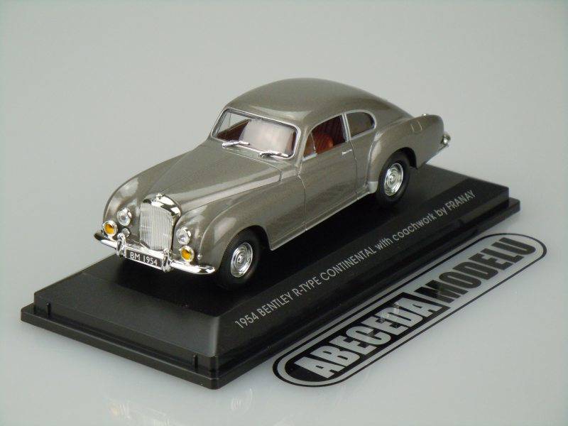 Yat Ming 1:43 Bentley R-Type Continental with coachwork by FRANAY 1954 code Yat Ming 43212, modely aut