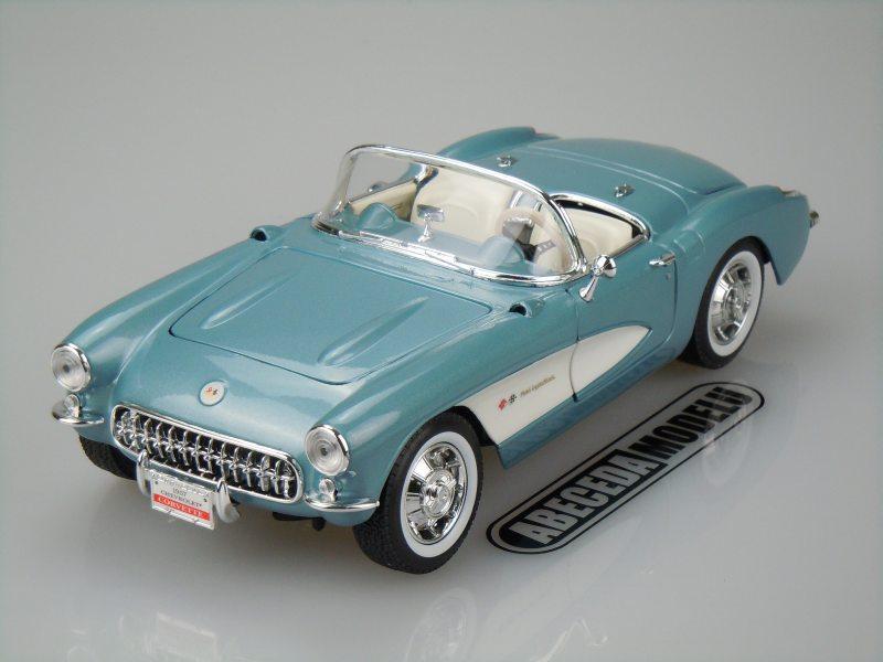 Yat Ming 1:18 Chevrolet Corvette 1957 (blue) code Yat Ming 92018, modely aut