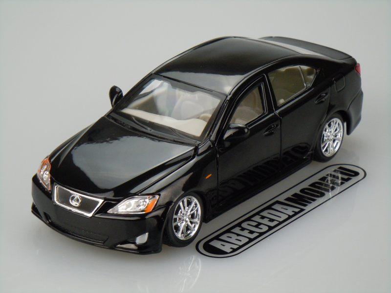 Bburago 1:24 Lexus IS 350 (black) code Bburago 22103, modely aut