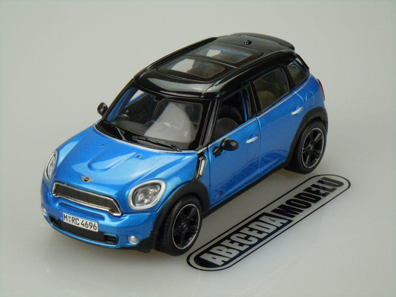 Maisto 1:24 Mini Countryman (blue) code Maisto 31273, modely aut