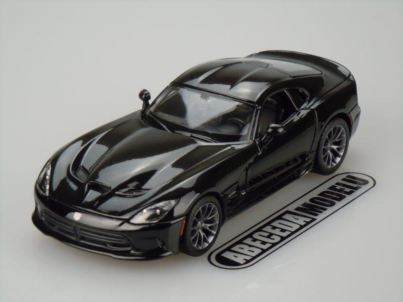 Maisto 1:24 Dodge SRT Viper GTS 2013 (black) code Maisto 31271, modely aut