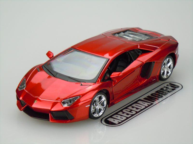 Maisto 1:24 Lamborghini Aventador LP700-4 Custom (red) code 31362, modely aut