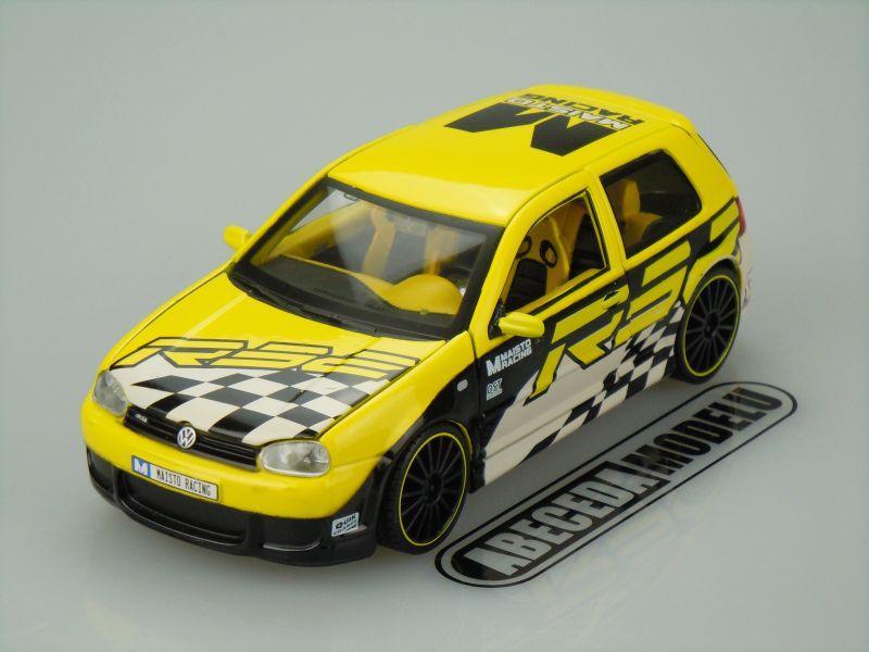 Maisto 1:24 VW Volkswagen Golf R32 Custom code Maisto 31043, modely aut