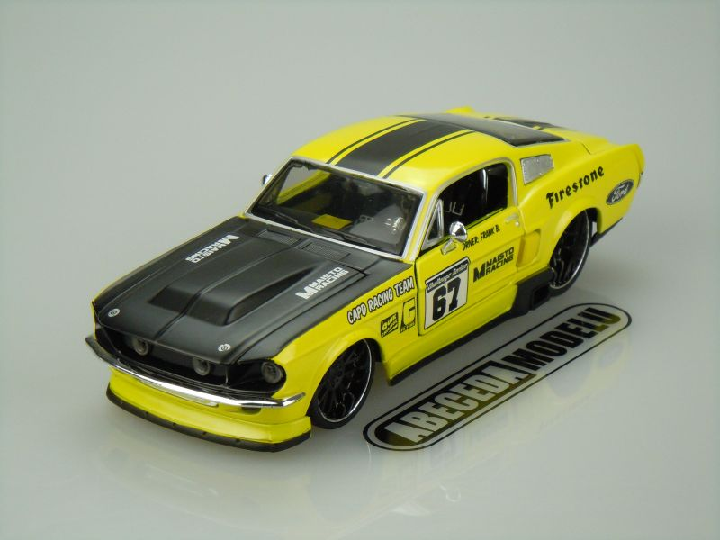 Maisto 1:24 Ford Mustang GT 1967 Custom code Maisto 31094, modely aut