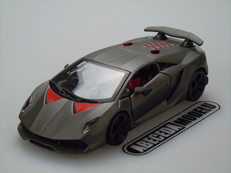 Bburago 1:24 Lamborghini Sesto Elemento (black) code Bburago 21061, modely aut