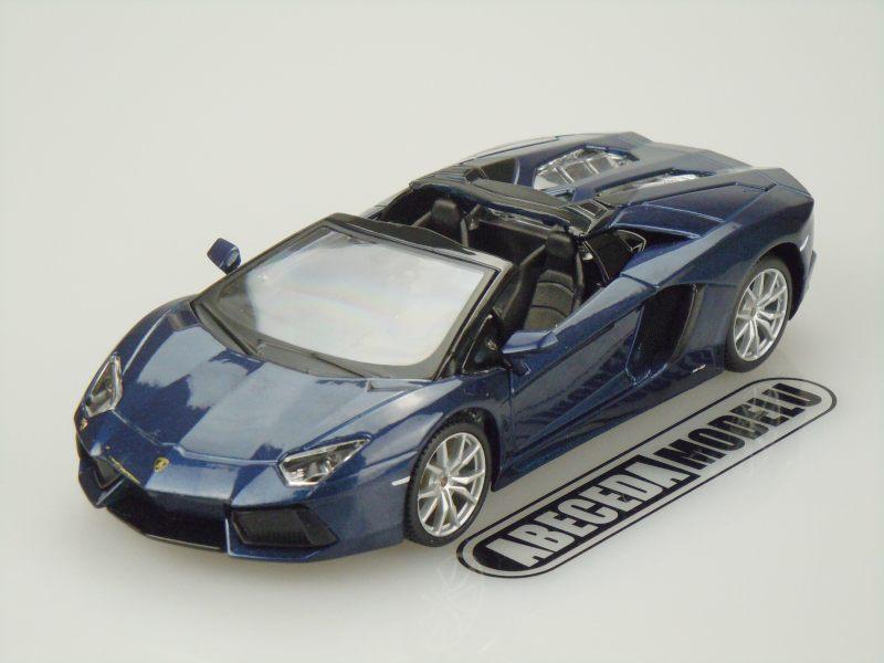 Maisto 1:24 Lamborghini Aventador LP 700-4 Roadster (blue) code Maisto 31504, modely aut