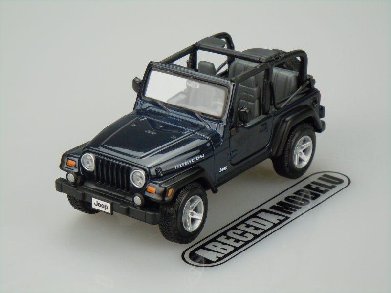 Maisto 1:27 Jeep Wrangler Rubicon (blue) code Maisto 31245, modely aut
