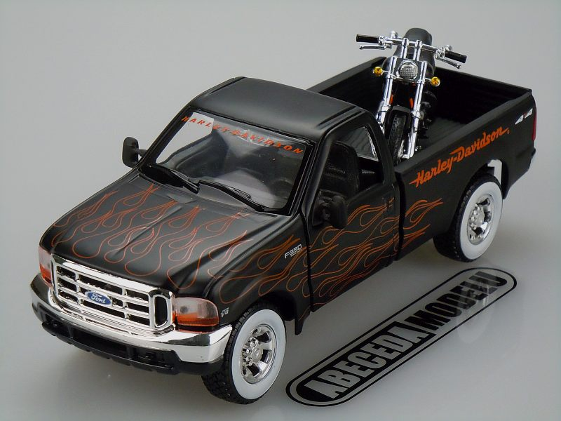Maisto 1:27 Ford F-350 Super Duty Pickup 1999 H-D (black) code Maisto 32181, modely aut
