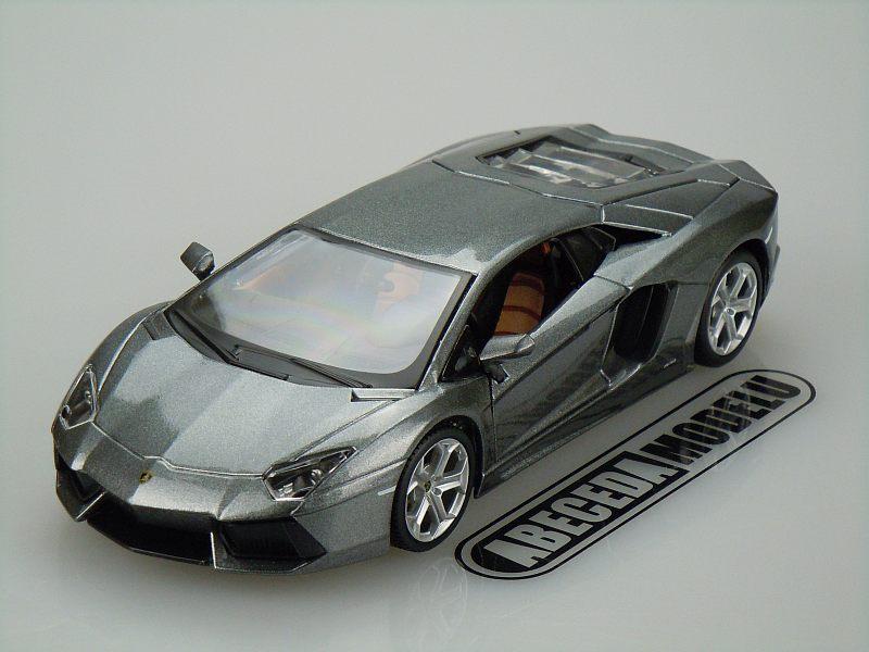 Maisto 1:24 Lamborghini Aventador LP700-4 (grey) code Maisto 31210, modely aut
