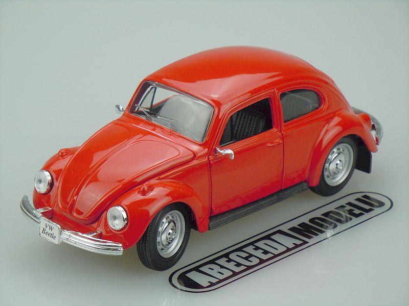 Maisto 1:24 VW Volkswagen Beetle 1973 (red) code Maisto 31926, modely aut