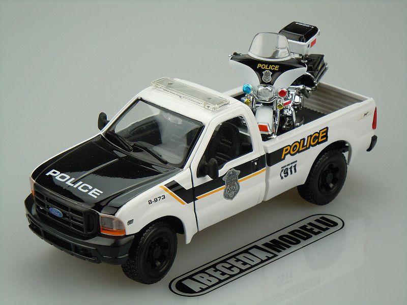 FORD F-350 SUPER DUTY PICKUP 1999 POLICE (HARLEY-DAVIDSON MOTO FLHTPI ELECTRA GLIDE 2004 POLICE)