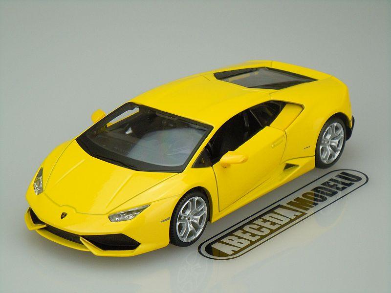 Maisto 1:24 Lamborghini Huracán LP 610-4 2014 (yellow) code Maisto 31509, modely aut