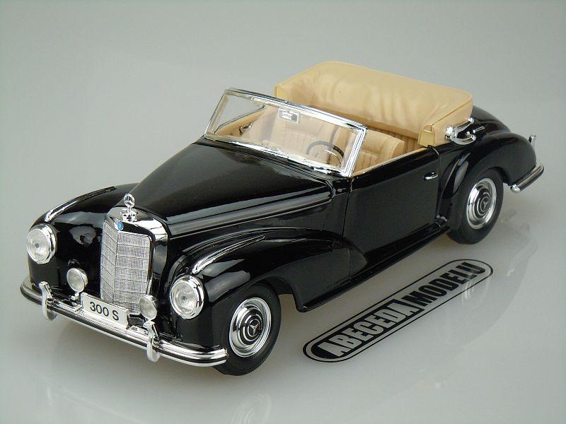 Maisto 1:18 Mercedes Benz 300S 1955 (black) code Maisto 31806, modely aut