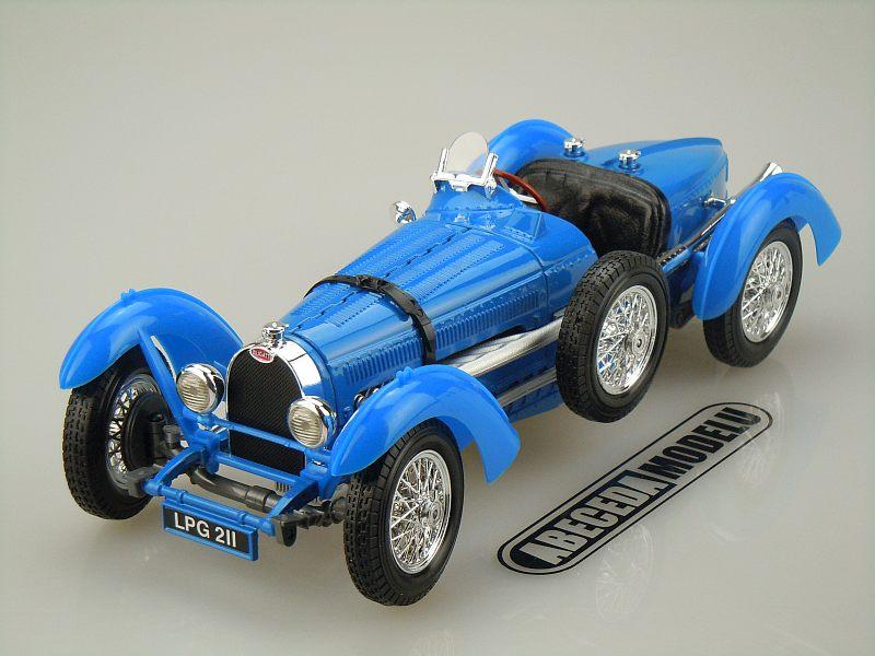 Bburago 1:18 Bugatti Type 59 (blue) code Bburago 12062, modely aut