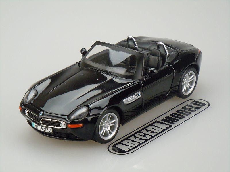 Maisto 1:24 BMW Z8 (black) code Maisto 31996, modely aut