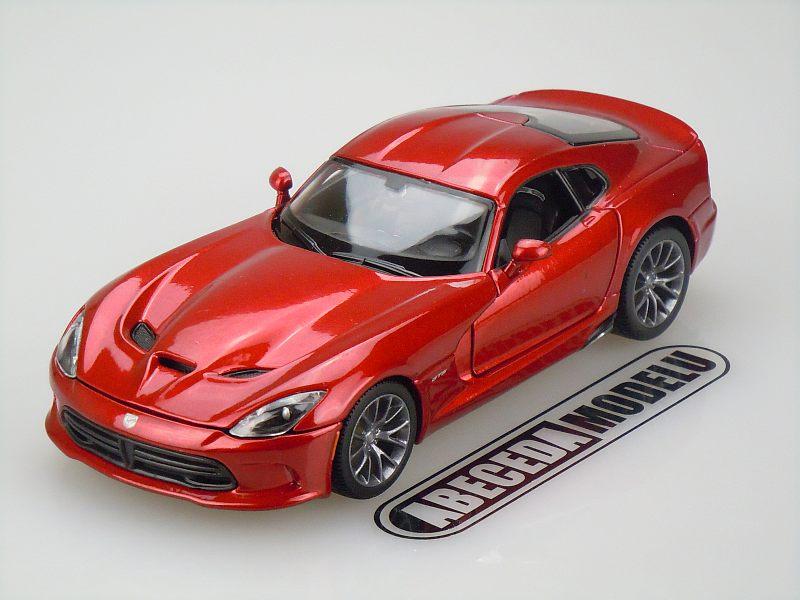 Maisto 1:24 Dodge SRT Viper GTS 2013 (red) code Maisto 31271, modely aut