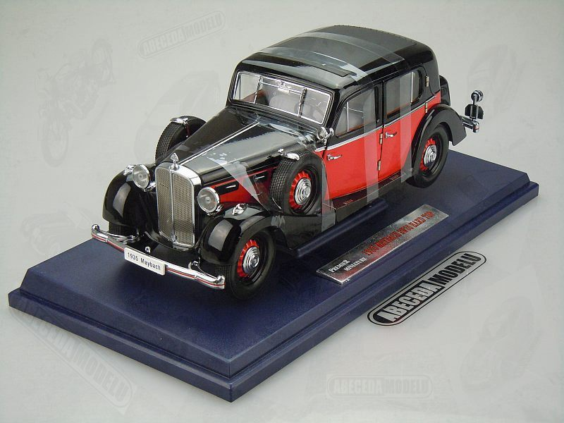 Signature Models 1:18 Maybach SW35 Hard Top 1935 (black) code Signature 38208, modely aut