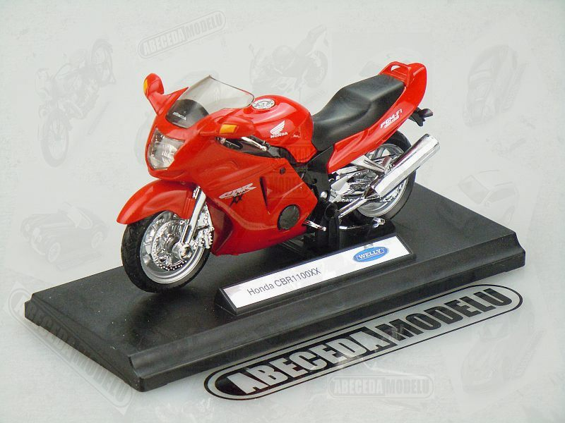 Welly 1:18 Honda CBR 1100XX (red) code Welly 12143, model motocyklu