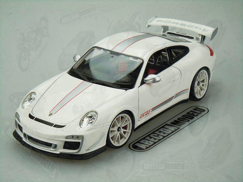 Bburago 1:18 Porsche 911 GT3 RS 4.0 (white) code Bburago 11036, modely aut