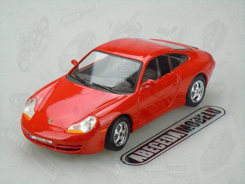 Bburago 1:24 Porsche 911 Carrera (red) code Bburago 22081, modely aut