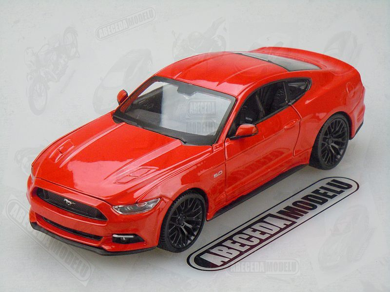 Maisto 1:24 Ford Mustang GT 2015 (red) code Maisto 31508, modely aut