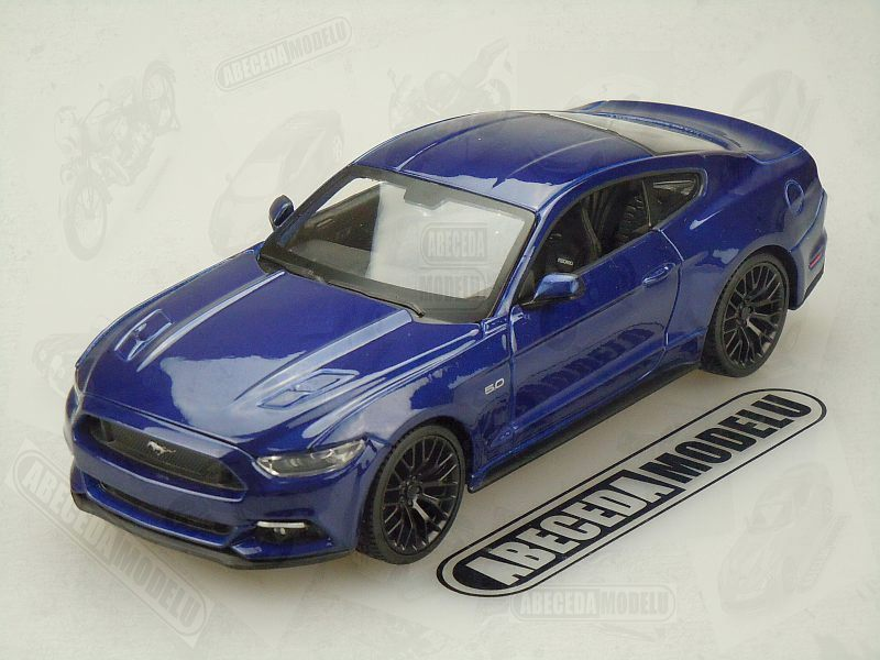 Maisto 1:24 Ford Mustang GT 2015 (blue) code Maisto 31508, modely aut