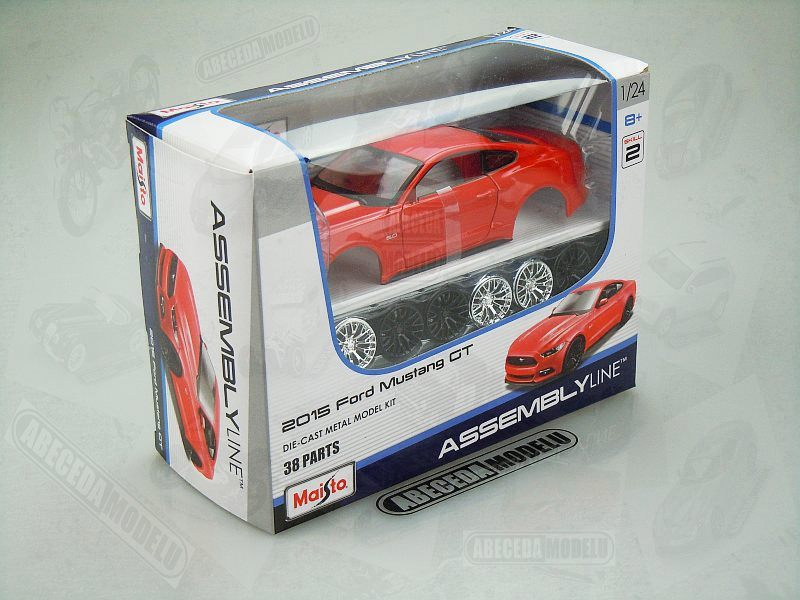 Maisto 1:24 Ford Mustang GT 2015 KIT (red) code Maisto 39126, modely aut