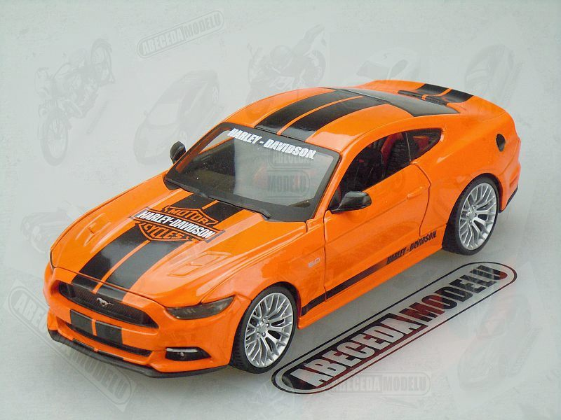 Maisto 1:24 Ford Mustang GT 2015 (orange) code Maisto 32188, modely aut