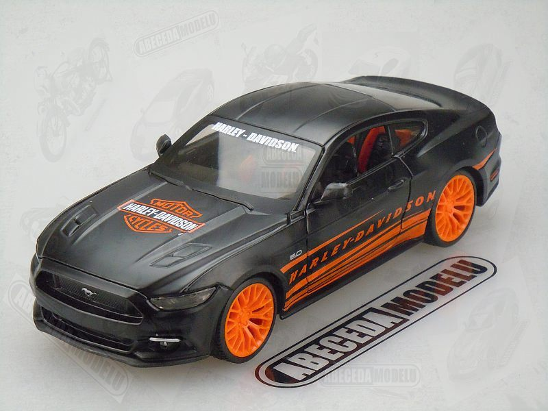 Maisto 1:24 Ford Mustang GT 2015 H-D (black) code Maisto 32188, modely aut