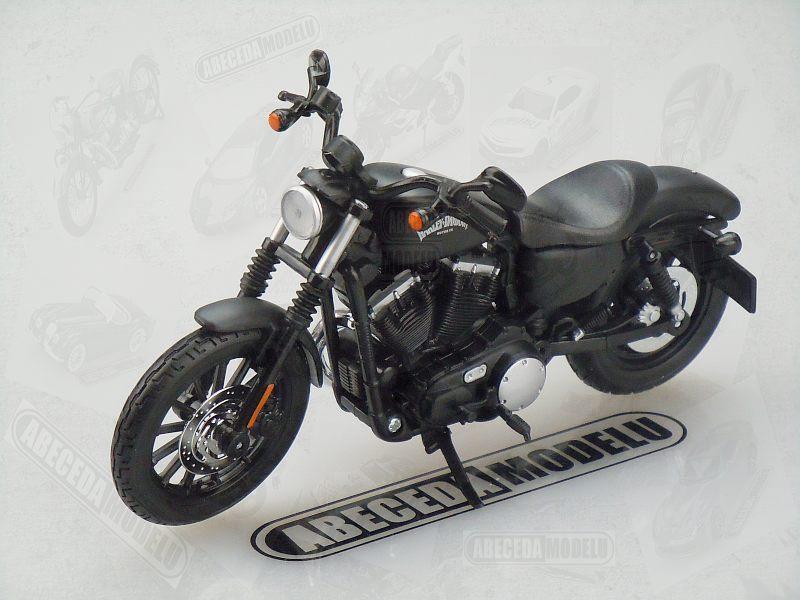 Maisto 1:12 Harley Davidson Sportster Iron 883 2014 (black) code Maisto 32326, model motocyklu