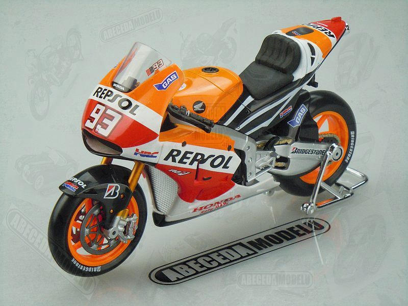 Maisto 1:10 Honda RC213V No.93 M.Marquez 2014 code Maisto 31406, model motocyklu