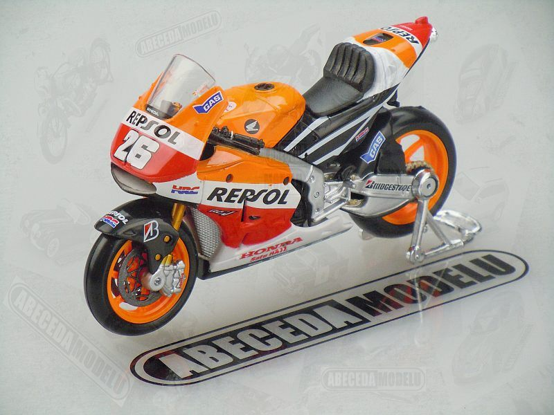 Maisto 1:18 Honda RC213V 2014 No.26 D.Pedrosa (Repsol) code Maisto 39587, model motocyklu