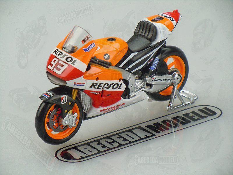 Maisto 1:18 Honda RC213V 2014 No.93 M.Marquez (Repsol) code Maisto 39587, model motocyklu