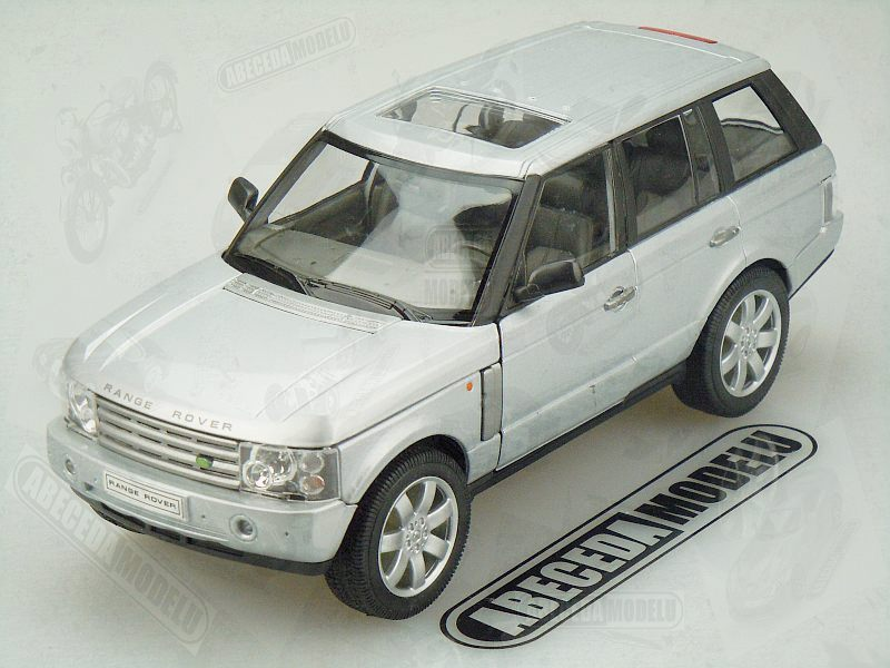 Welly 1:24 Land Rover Range Rover (silver) code Welly 22415, modely aut