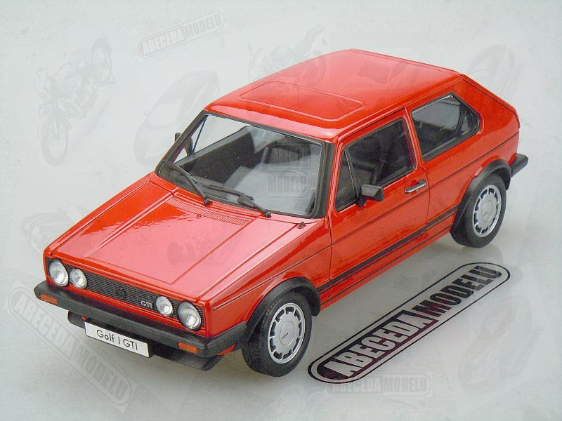 Welly 1:18 Volkswagen Golf I GTI (red) code Welly 18039, modely aut