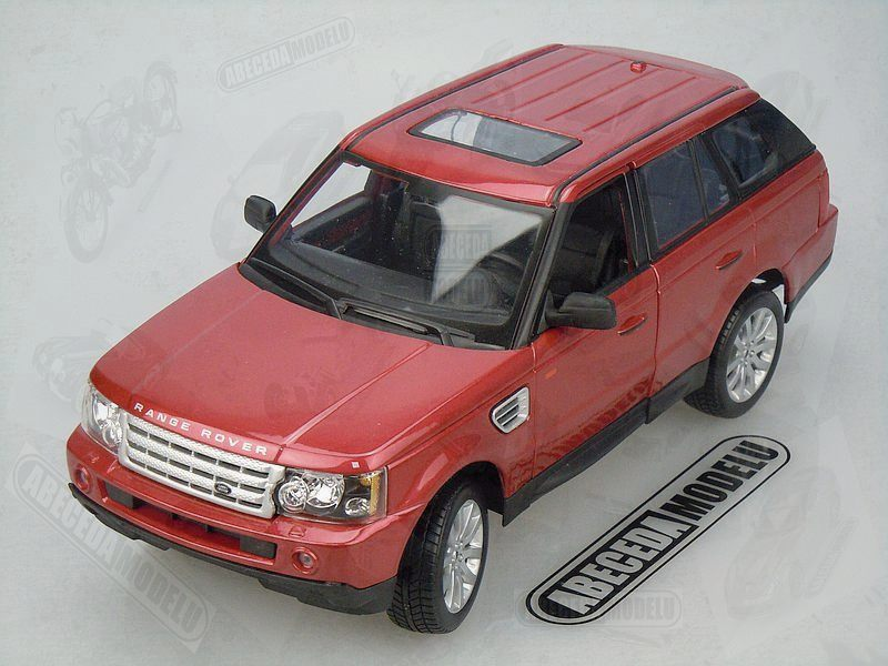 Maisto 1:18 Range Rover Sport (red) code Maisto 31135, modely aut