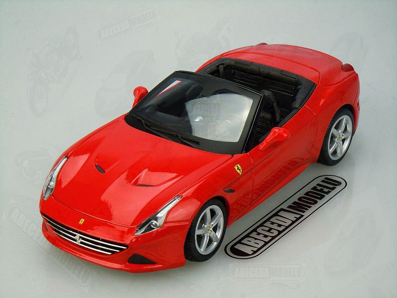 Bburago 1:18 Ferrari California T open top (red) code Bburago 16007, modely aut