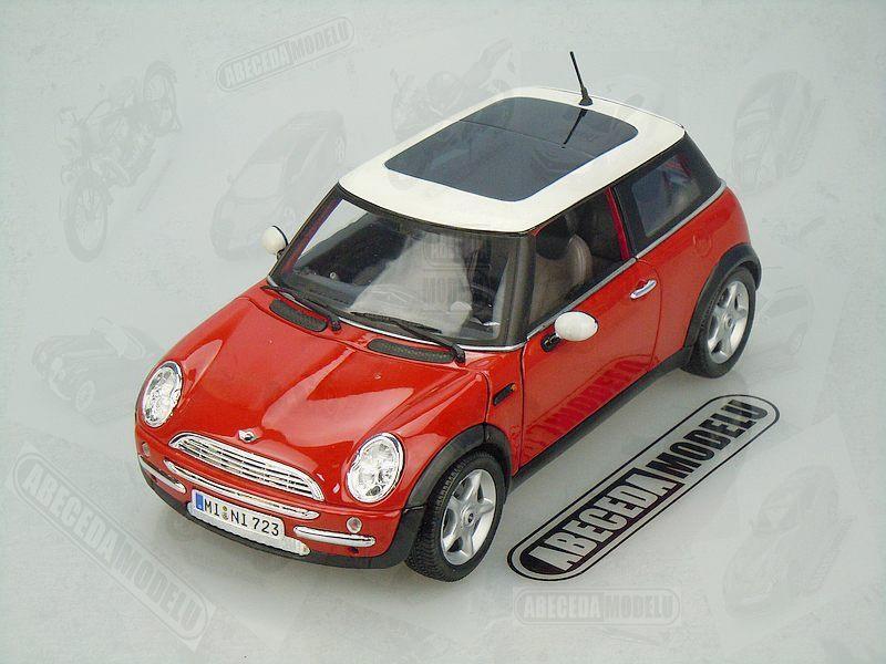Maisto 1:18 Mini Cooper Sun Roof (red) code Maisto 31656, modely aut