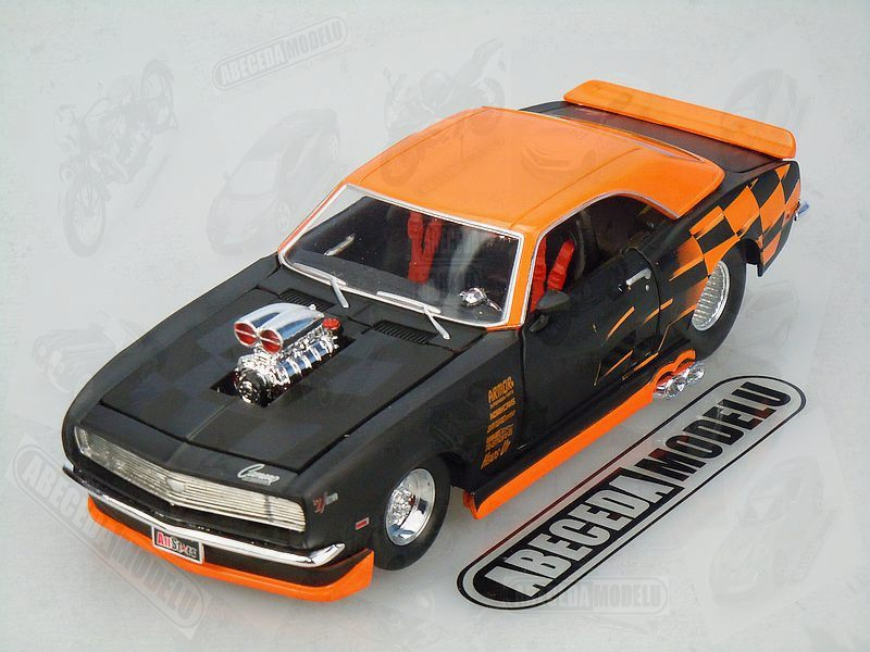 Maisto 1:24 Chevrolet Camaro Z28 1968 Custom code Maisto 31304, modely aut