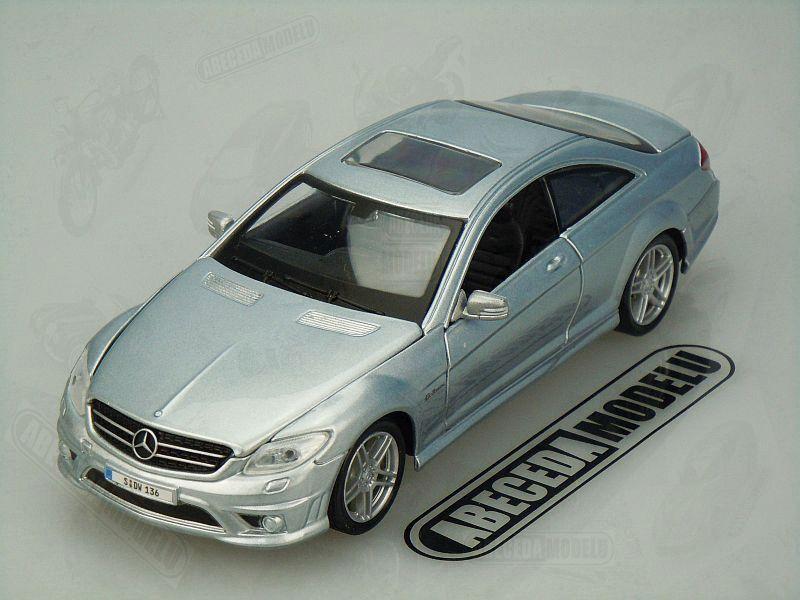 Maisto 1:24 Mercedes Benz CL63 AMG (blue) code Maisto 31297, modely aut