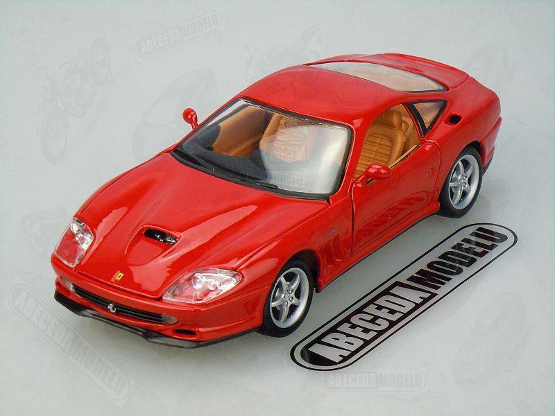 Bburago 1:24 Ferrari 500 Maranello (red) code Bburago 26004, Race & Play modely aut