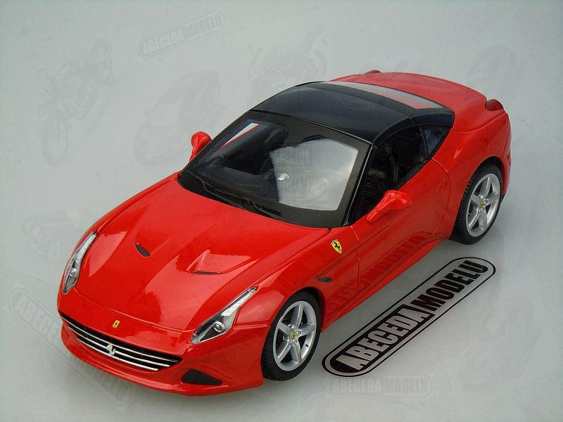 Bburago 1:18 Ferrari California T closed top (red) code Bburago 16003, modely aut