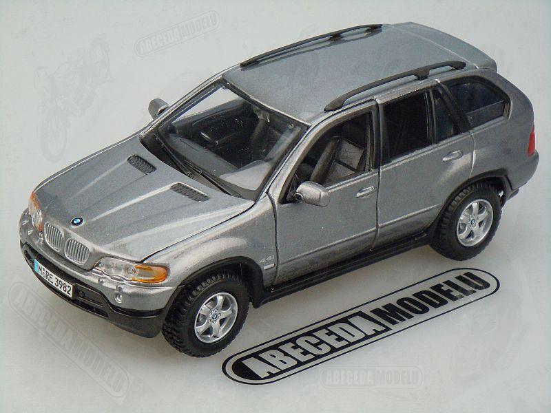 Bburago 1:24 BMW X5 (grey) code Bburago 22001, modely aut