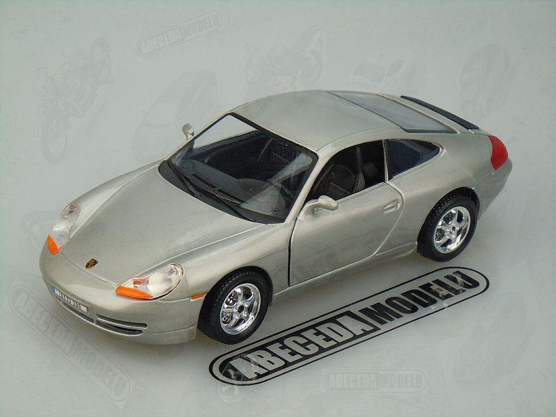 Bburago 1:24 Porsche 911 Carrera (silver) code Bburago 22081, modely aut