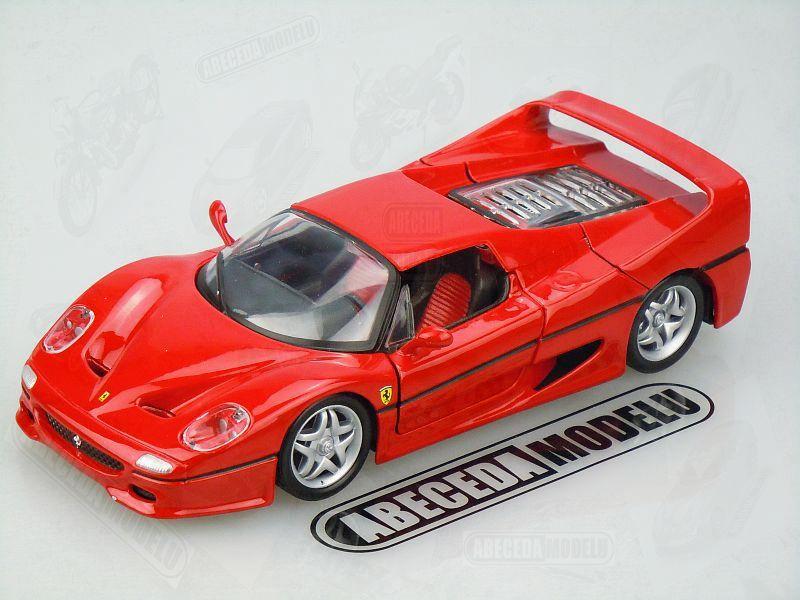 Bburago 1:24 Ferrari F50 (red) code Bburago 26010, modely aut