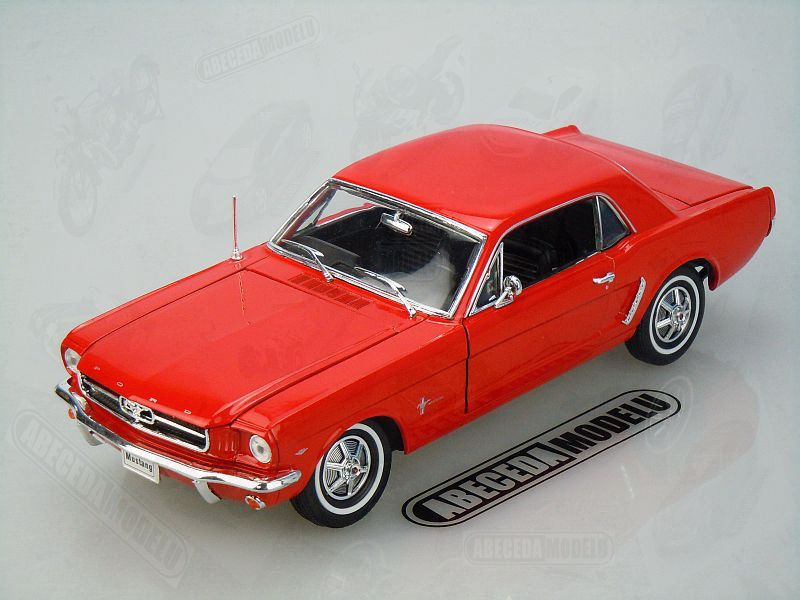 Welly 1:18 Ford Mustang 1/2 Coupe 1964 (red) code Welly 12519, modely aut